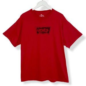 Levi's Spellout Vintage Red T-Shirt